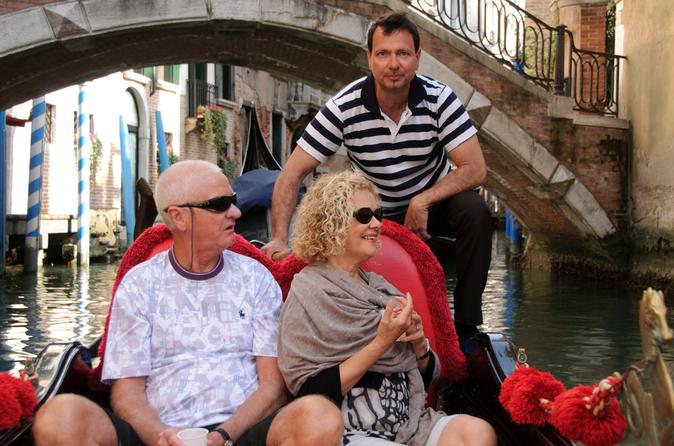 Private Tour: Venice Gondola Ride Including the Grand Canal