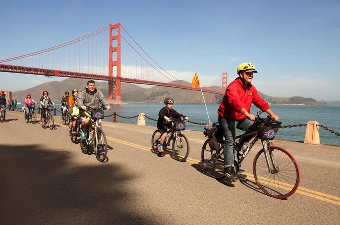 Excursão de bicicleta da ponte Golden Gate para Sausalito em São Francisco