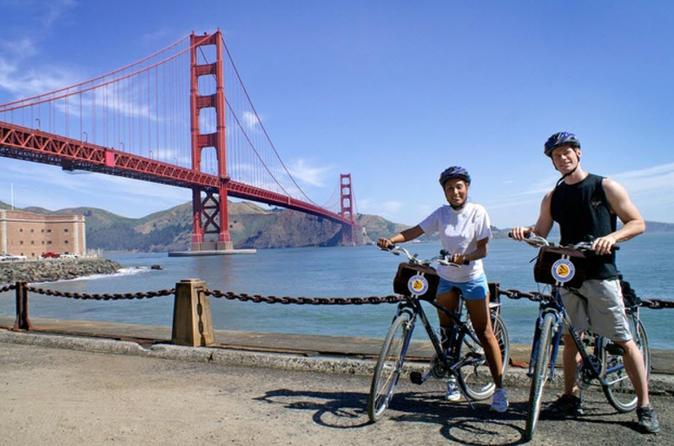 Fishermans Wharf Self Guided Bike Tour