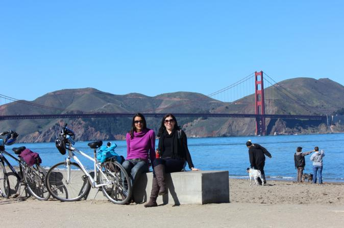 San Francisco Independent Electric Bike Tour with Rental