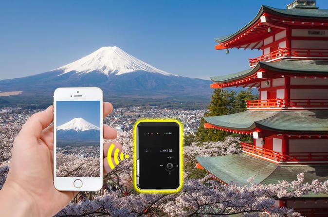 Narita Airport Mobile WiFi Hotspot Rental: 4G LTE