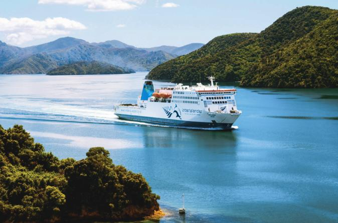 Ferry InterIslander - Wellington a Picton