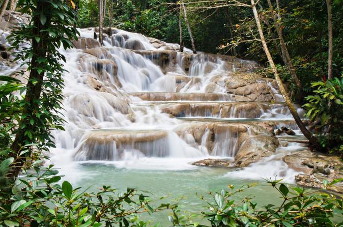 Combo de Excursões para Jamaica: Cataratas do Rio Dunn e Nine Mile de Bob Marley