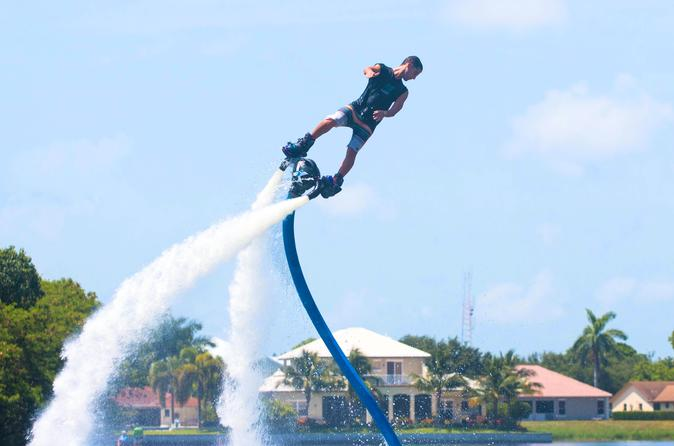 Forty five minute flyboarding lesson in boca raton 368199