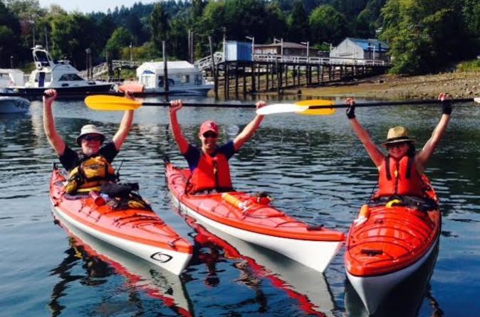 Gibsons beachcomber kayak tour in gibsons 326719