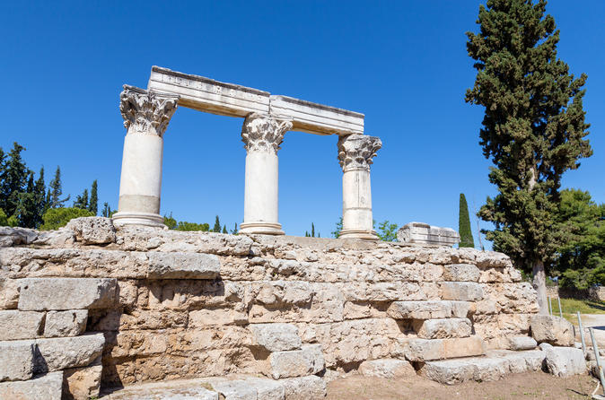 Ancient Corinth Private Day Trip from Athens