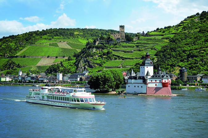 Rhine river 20 castles boat tour pass in frankfurt 444200