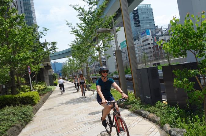 Small group tokyo biking tour in shinjuku 349830