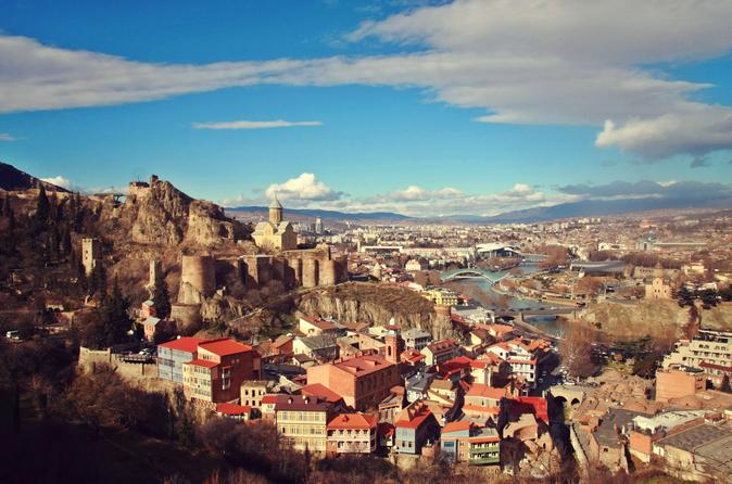 Tbilisi walking tour with cable cars wine tasting and traditional in tbilisi 341978
