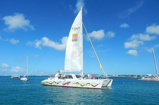 Simpson Bay Half Day Champagne Sail in St Maarten Sint Maarten (Netherlands), Caribbean