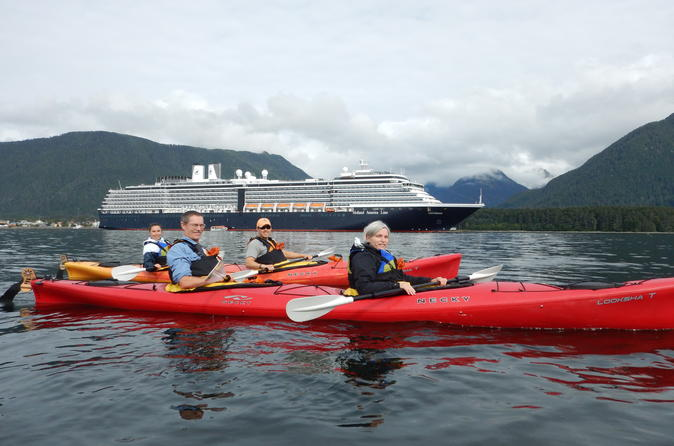 Harbor and islands guided paddle in sitka 310598