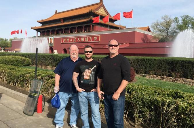 Tiananmen Square &  Forbidden City Tour from Beijing Airport