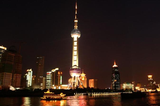 Zhujiajiao Water Town Tour Plus Huangpu River Night Cruise