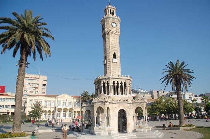 Izmir Izmir City Tour with Kordonboyu Republic Square, Konak Square, Clock Tower, Kemeralti Bazaar and Karsiyaka in Turkey Europe