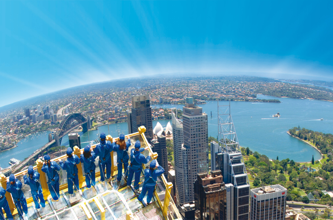 Sydney Skywalk na Sydney Tower Eye
