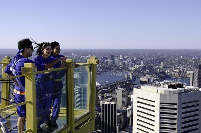 Sydney Tower Eye in Australia Pacific Ocean and Australia