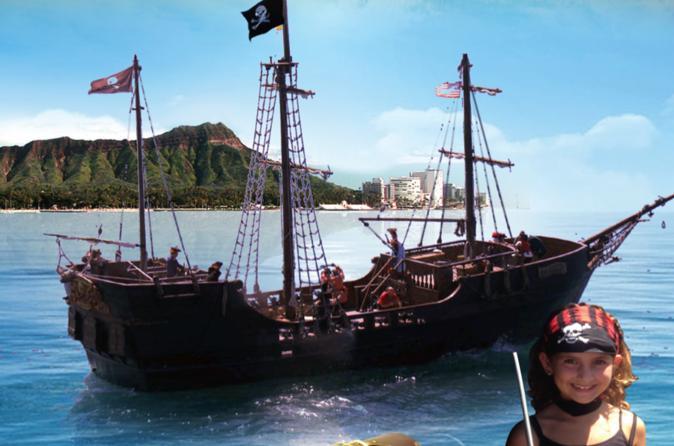 Hawaii Pirate Ship Adventures Triphobo - Pirate ship cruise hawaii