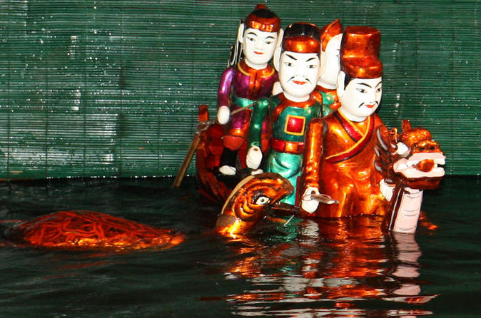 Private Tour: Ha Noi Street Food Tour Including Water Puppet Show