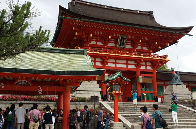 Private Tour: Arashiyama and Fushimi Inari Tour from Osaka