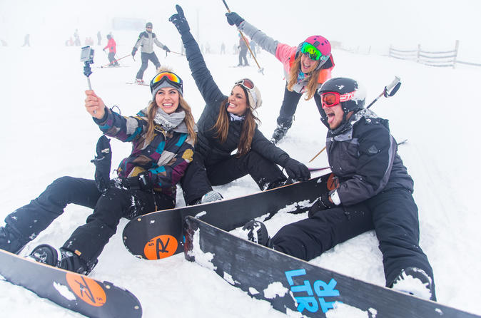 Beginner lessons, full rental and Cardrona bus transfers