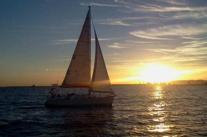 Sailing Boat: Sunset Cruise From The Sea - Barcelona