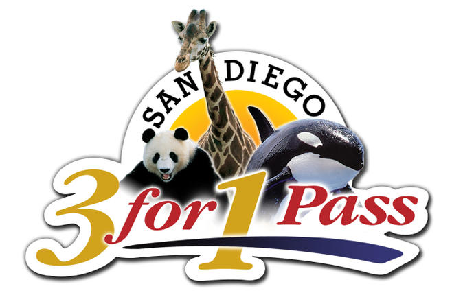 San diego 3 for 1 pass seaworld san diego zoo and safari park in san diego 154643