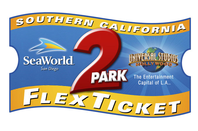 Southern California 2-Park Flex Ticket: SeaWorld en Universal Studios Hollywood