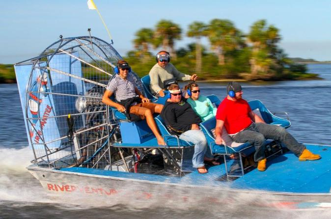 Gulf of mexico airboat ride and dolphin quest from homosassa in homosassa 312429