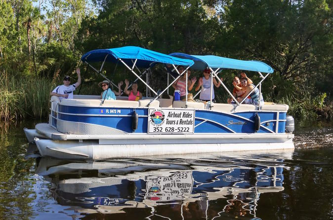 Pontoon Boat Rental on Homosassa River