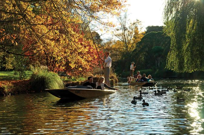 Punting on the Avon River with Optional Christchurch Gondola and Botanic Gardens Tour