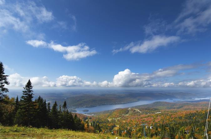 Um dia de viagem às Montanhas Laurencianas partindo de Montreal
