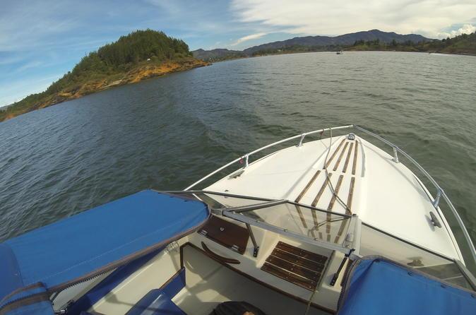 Excursão em Guatapé e lago El Peñol
