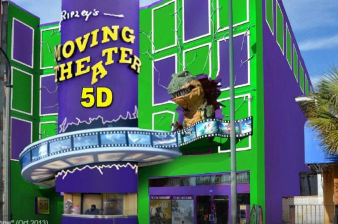 Ripley's 5D Moving Theater in Myrtle Beach