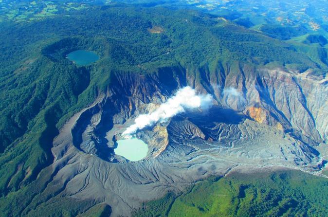 Poas Volcano plus La paz waterfall gardens!