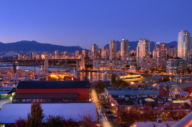 Best Of Vancouver Private Evening City Tour