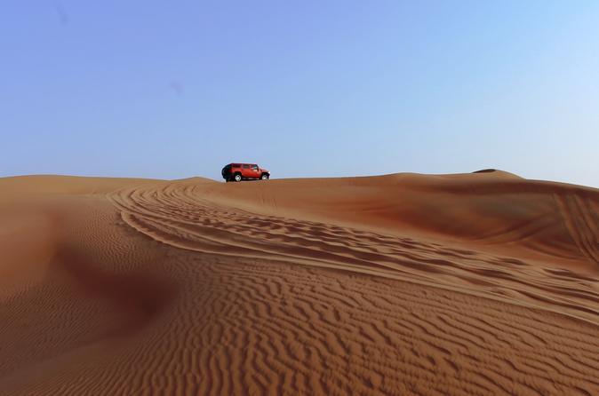 Evening Desert Safari Experience from Dubai