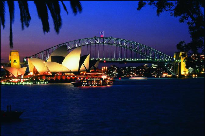 Cruzeiro Jantar no Porto de Sydney