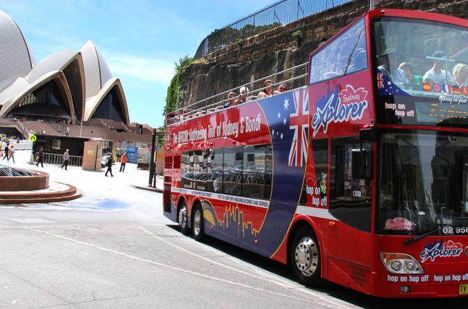 Sydney combo hop on hop off harbor cruise and hop on hop off city bus in sydney 136599