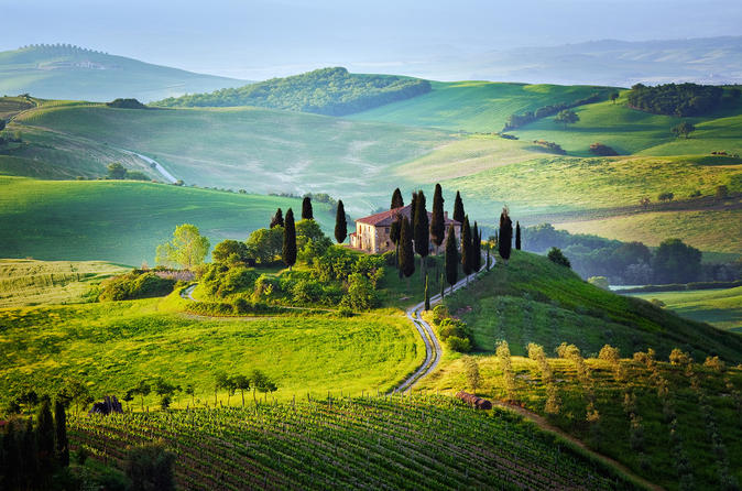 Private Day Tour: Tuscany Countryside from Rome