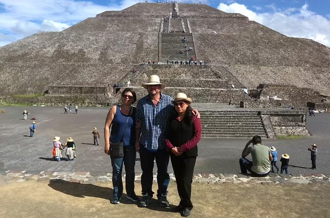 Excursão particular: Teotihuacan e Santuário de Guadalupe