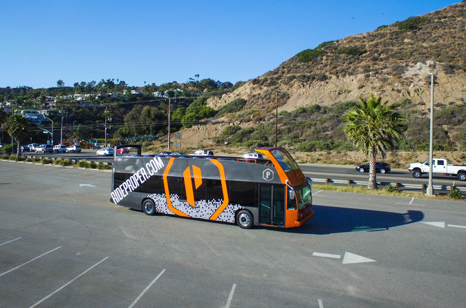 Double Decker Hop On Hop Off Tour in Los Angeles