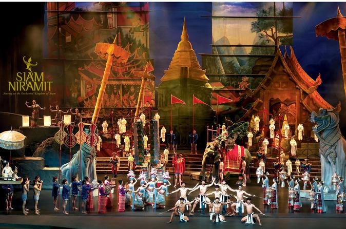 Show Siam Niramit, incluindo jantar com bufê opcional saindo de Bangcoc