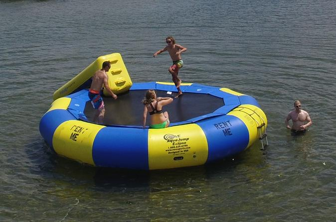 Traverse bay water trampoline rental in traverse city 333204