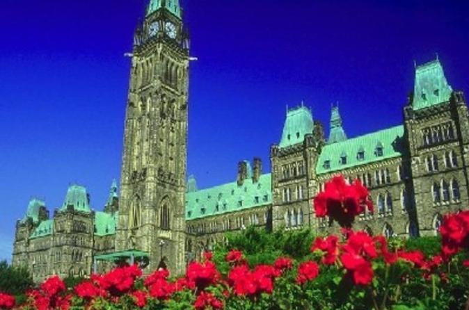 Excursão em ônibus panorâmico pela cidade de Ottawa