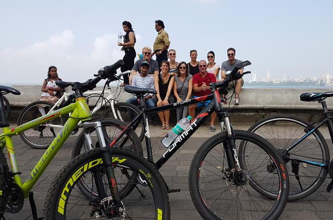 Early Morning Private Bicycle Tour of Mumbai Highlights
