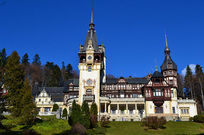 Private Tour: Transylvanian Castles and Brasov's Medieval Old Town