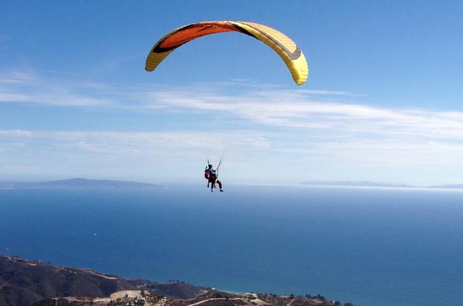 Tandem Paragliding in Malibu - Los Angeles | Viator