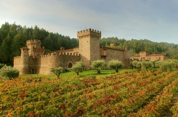 Small Group Napa Wine Tour With Castello Di Amorosa & Lunch