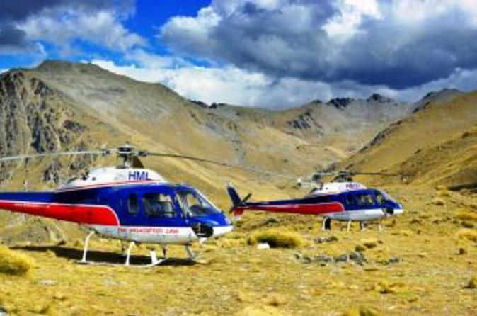 Remarkables mountain range helicopter flight from queenstown in queenstown 141652