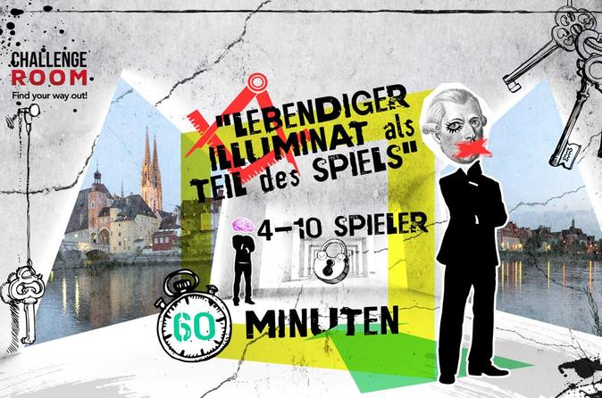 Illuminati escape game with an actor for up to 10 people in regensburg 318956